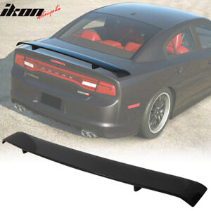Fits 11 20 Dodge Charger Srt8 Abs Trunk Spoiler Wing Painted Glossy Black