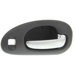 Door Handle For 1999 04 Chrysler 300m With Black Housing 4 Nut Front Right Inner