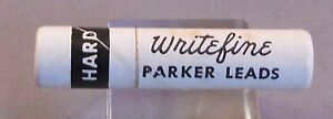 Parker Vintage Lead 0.9mm short thin  --HARD---12 sticks