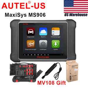 Autel Maxisys Ms906 Obdii Automotive Diagnostic Scanner Upgrade Of Ds708 Ds808