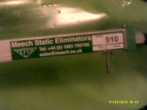 New Meech 910 Anti Static Ionisation Bar 24 Inch Eliminator