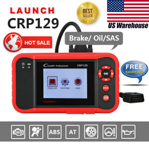 Launch Creader129 Crp129 Obd2 Auto Diagnostic Scanner Tool Engine Abs Srs Vii