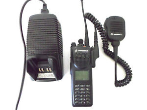 Motorola Xts3000 H09uch9pw7an Astro Model Iii Flashport 800mhz Radio Charger