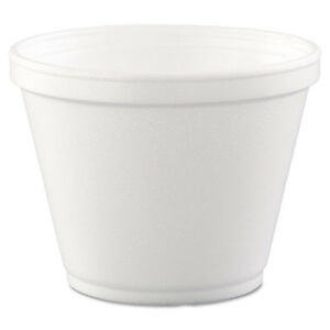 Food Containers Foam 12oz White 25 bag 20 Bags carton