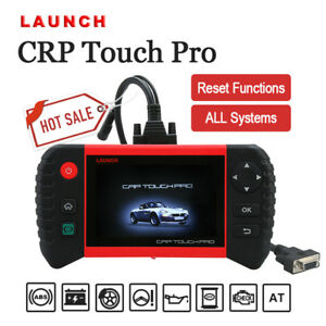 Launch Crp Touch Pro Diagnostic Scan Tool Sas Dpf Epb Abs Oil Bmw Mbz Adapters