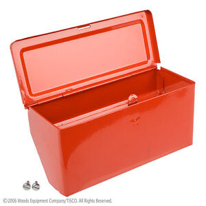 8n17005 New Painted Tool Box Assembly For 8n 1948 1952 Ford Tractor