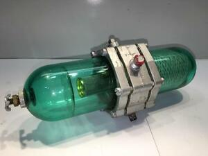 Mb Detroit Pneumatic Air Tool Hose Line Filter Lubricator 1 4 Npt 2f8 9