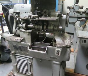 Tsugami No 00m High Speed Automatic Screw Machine Swiss Model Oom
