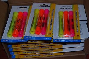 Lot Of 72pcs Highlighter Pen Marker School Office Wholesale Free Shipping