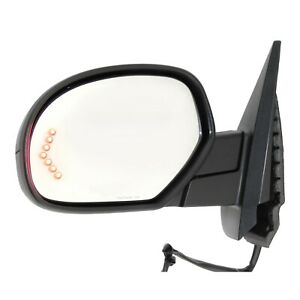 Power Mirror For 2007 2014 Chevrolet Tahoe Left Power Fold Heated With Memory