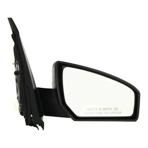 Power Mirror For 2007 2012 Nissan Sentra Passenger Side Paintable Right