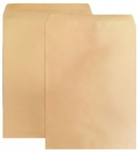 500 Shippingmailers 9 X 12 Kraft Catalog Envelopes w Gummed Closure