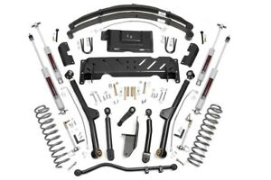 Jeep Cherokee Xj 4 5 Long Arm Suspension Lift Kit 1984 2001 np231