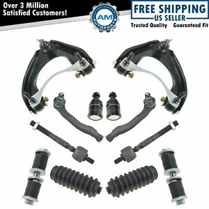 12 Piece Steering Suspension Kit Front Lh Rh Set For Honda Civic Crx New