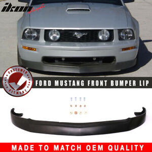 Fits 05 09 Ford Mustang V8 Gt 4 6l Front Bumper Lip Chin Spoiler