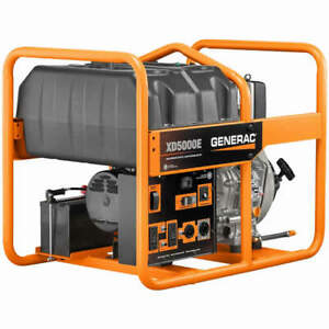 Generac Xd5000e 5000 Watt Electric Start Portable Diesel Generator
