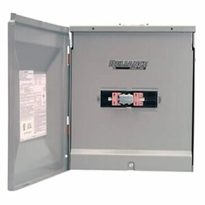 Reliance Controls 100 amp Outdoor Transfer Panel