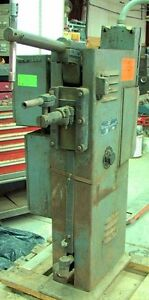 Rex Welder Engineering Type Fru 7 5 Kva Floor Standing Vintage Spot Welder Pu