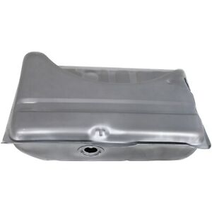 16 Gallon Fuel Tank For 71 76 Dodge Dart Plymouth Duster Silver