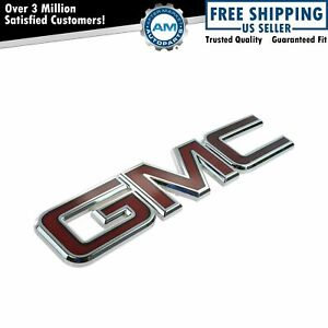 Oem 22757017 Grille Emblem Nameplate For Gmc Sierra Denali 2500 3500 New