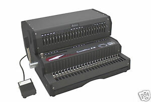 Akiles Combmac ex24 Comb Binding Machine Electric Hole Punch 14 new