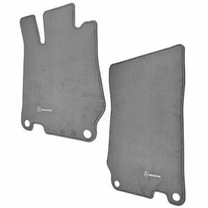 Oem Q 6 68 0510 Floor Mat Ash Gray Pair Kit Set Of 2 Lh Rh For Mercedes Benz Sl