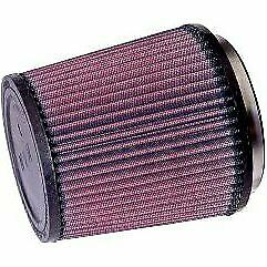 K n Air Filter Element Filtercharger Conical Cotton Gauze Red 4 5 Dia Inlet Ea