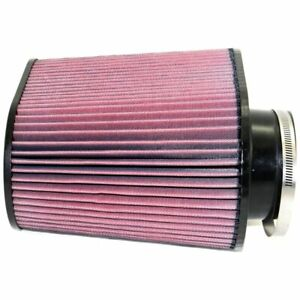 K N Air Filter Element Oval Tapered Cotton Gauze Red 4 Inlet Diameter Ea