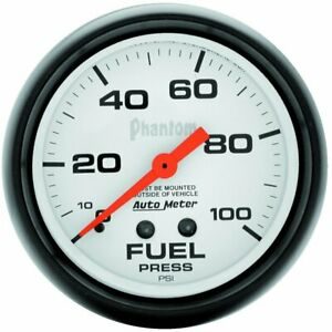 Autometer Fuel Pressure Gauge Gas New 5812