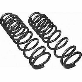 Moog Set Of 2 Coil Springs Front New For Jeep Grand Cherokee Comanche Cc780