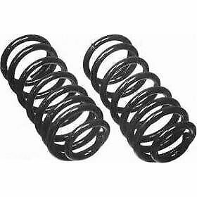 Moog Coil Springs Set Of 2 Rear New Coupe Sedan For Ford Mustang Cc827