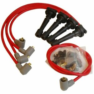 Msd Spark Plug Wires 8 5mm Red Stock Boots For Use On Acura 1 7 1 8l L4 32329