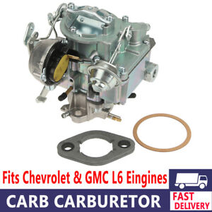 Carburetor 1 Bbl Rochester Fit 1963 96 Chevy Gmc 250 292 W choke Thermostat