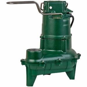 Zoeller N264 4 10 Hp Cast Iron Sewage Pump 2 non automatic