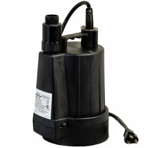 Zoeller N42 15 Gpm 1 Floor Sucker Ii Oil free Submersible Utility Pump