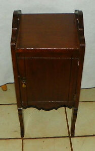 Mahogany Copper Lined Smoke Stand