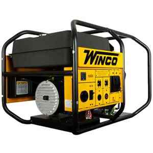 Winco Wl18000ve 15 000 Watt Electric Start Portable Generator W B