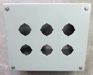Hoffman Pushbutton Enclosure 6 Hole