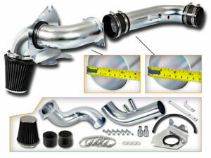Black Cold Air Intake Kit Dry Filter For Ford 96 04 Mustang Gt 4 6l V8