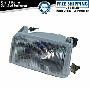 Oem Headlight Lamp Assembly Lh Driver Side For Ford Bronco F150 F250 F350 F450