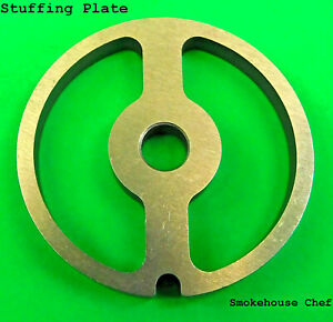 Sausage Stuffer Stuffing Disc Plate For Smokehouse Chef Meat Grinder