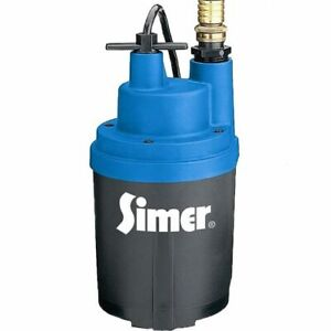 Simer 2330 Smart Geyser 30 Gpm 3 4 Or 1 Automatic Submersible Utility Pump