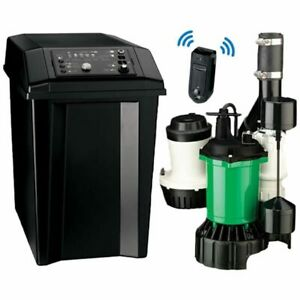 Myers Mbsp 3c 1 2 Hp Combination Primary Backup Sump Pump System W Wifi