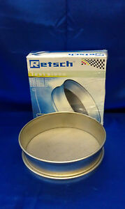 Retsch Test Sieve 8 x 2 Astm E11 850 Micron best Made