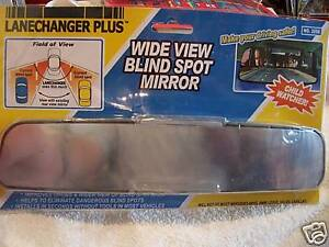 The Lanechanger Plus Rear View Blind Spot Wide Mirror Child Safety Fit Most Cars