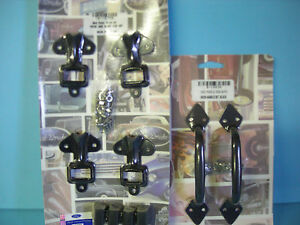 1932 Ford 1932 1933 1934 Truck Hood Side Latch Clips Handles Painted Steel