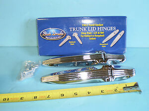 1937 Ford Humpback Sedan Trunk Hinges