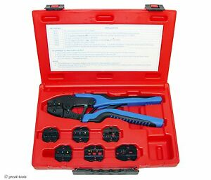 Ratcheting Terminal Crimper Tool Wire Crimping Tools Automotive Terminals