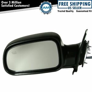 Side View Power Heated Mirror Driver Left Lh For 99 04 Jeep Grand Cherokee