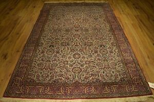 Liquidation Vintage Hand Knotted Rug 5 X 8 Semi Antique Persian Rugs Deals